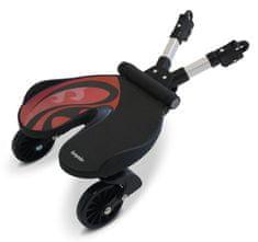 Bumprider Univerzális korcsolyázó babakocsihoz, fekete / piros