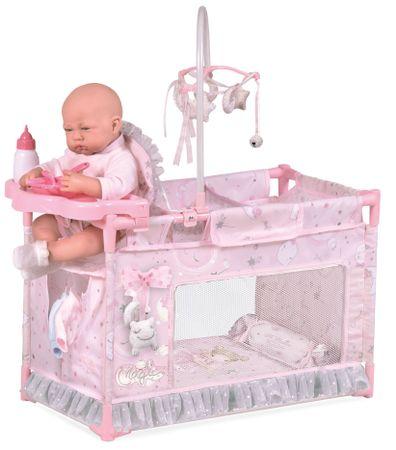 DeCuevas 53134 Moj prvi krevetić za lutke s dodacima Magic Maria