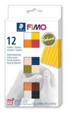 Staedtler FIMO® soft sada 12 barev 25 g NATURAL