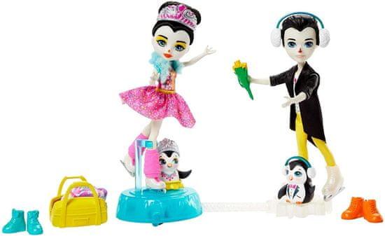 Mattel Enchantimals Na korčuliach