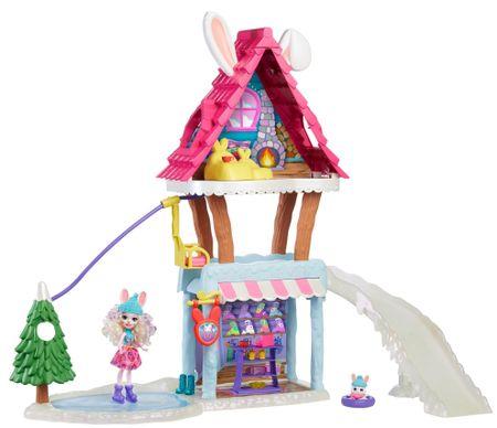 Mattel Enchantimals Schronisko górskie Zestaw do zabawy