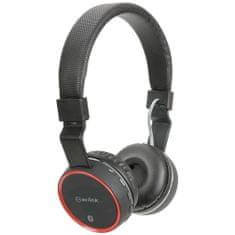 AV:link PBH-10 bezdrôtová Bluetooth SD slúchadlá, čierna