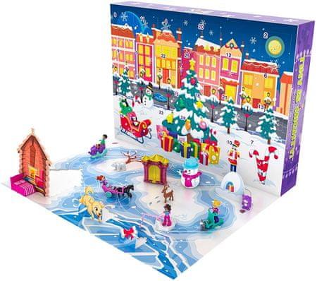 Mattel Polly Pocket Kalendarz adwentowy
