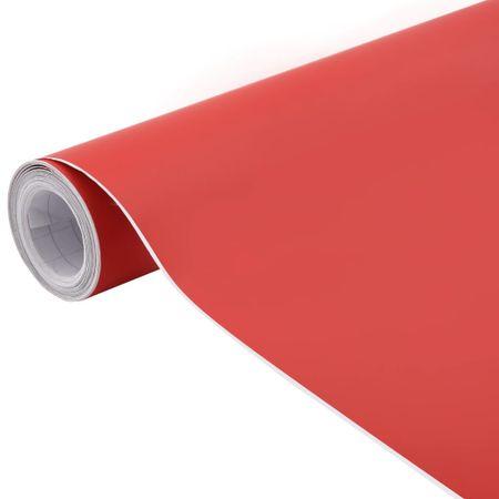 shumee Folija za avto mat rdeča 200x152 cm