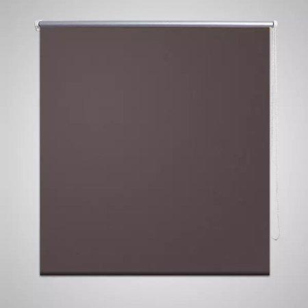 Roleta przeciwsłoneczna 120 x 230 cm kawa