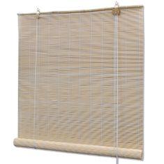 Naturalna bambusowa roleta 100 x 160 cm