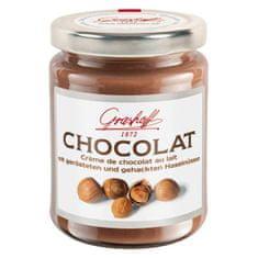 Grashoff Mliečny čokoládový krém s lieskovými orieškami, 250g