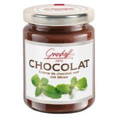 Grashoff Tmavý čokoládový krém s mätou, 250g