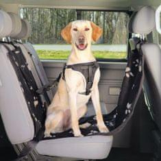 TRIXIE Pokrowiec na siedzenie dla psa, 65x145 cm czarny i beżowy