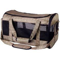 TRIXIE Transporter, torba dla zwierzaka Malinda 27x30x50 cm, brązowe