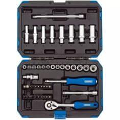 """Draper Tools 47-częściowy zestaw nasadek metrycznych 1/4"""", 16355"""