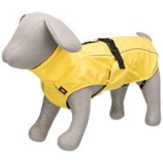 TRIXIE Płaszcz przeciwdeszczowy dla psa Vimy, L, 55 cm, żółty
