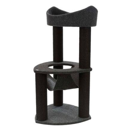 TRIXIE Drapak dla kota Felipe, 110 cm, ciemnoszary