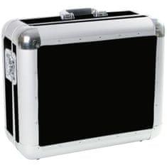Roadinger Gramo Case Tour, přepravní gramofonní kufr hliníkový černý