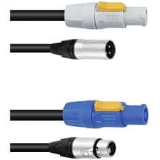 PSSO Combi Cable DMX PowerCon/XLR 5m