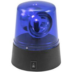 Eurolite LED mini policejní maják, modrý