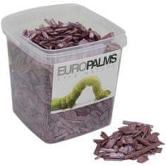 Europalms Dekorační dřevěné štěpky fialové, balení 5,5 litru