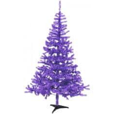 Europalms Vánoční jedle, fialová, 240 cm
