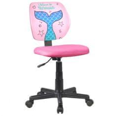 Uredska stolica Persil, roza