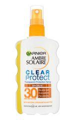 Garnier Ambre Solaire Clear Protect SPF30 zaščitno razpršilo za sončenje, 200 ml