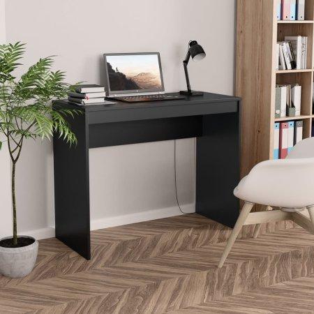 shumee fekete forgácslap íróasztal 90 x 40 x 72 cm
