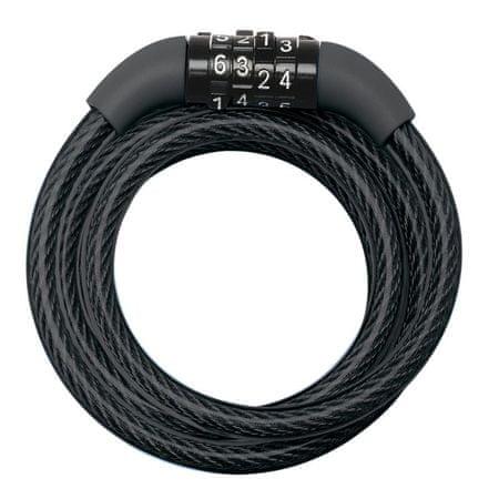 MasterLock Spiralny zamek kablowy kombinowany 8143EURDPRO Master Lock - 1,2m