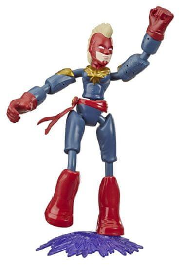 Avengers figurka Bend and Flex Captain Marvel