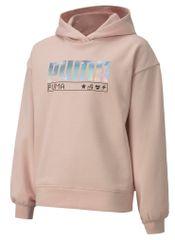 Puma Alpha Hoodie FL G pulover za djevojčice
