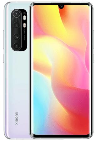 Xiaomi smartfon Mi Note 10 Lite, 6GB/64GB, Global Version, Glacier White