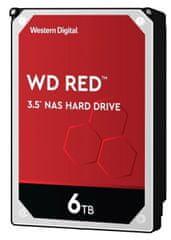 Western Digital Red tvrdi disk, 6 TB, SATA 6 Gb/s, 5400, 256 MB (WD60EFAX)