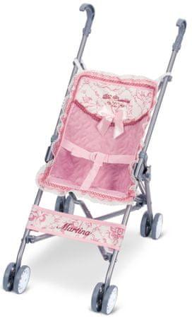 DeCuevas 90096 Zložljivi voziček za punčke golf klub Martina