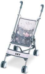 DeCuevas 90096 Zložljivi voziček za punčke golf klub Sky