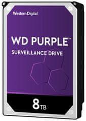 Western Digital Purple tvrdi disk, 8 TB, SATA 6 Gb/s, 7200, 256 MB (WD82PURZ)