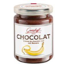 Grashoff Tmavý čokoládový krém s banánom, 250g