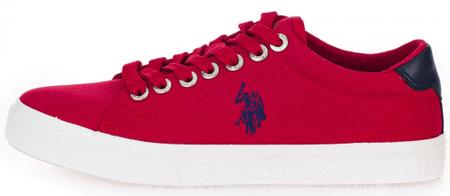 U.S. POLO ASSN. JAXON 4082S0/CY1 férfi sportcipő, 40, piros