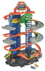Hot Wheels City Garáž s T-Rexem