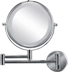 Kleine Wolke kozmetično ogledalo Brilliant, srebrno