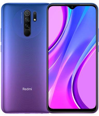 Xiaomi Redmi 9 mobilni telefon, 3GB/32GB, Global Version, Sunset Purple