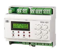 Elektrobock R3V-421 Dvou-okruhový regulátor ventilů