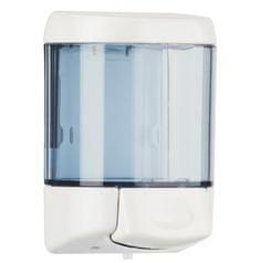 Drozd Dávkovač tekutého mýdla průhledný plast 500ml Prestige Marplast typ 775 nástěnný