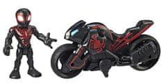 Avengers Figurka i motor Super Heroes Kid Arachnid