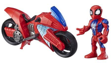 Avengers Figurka i pojazd Super Heroes Spiderman