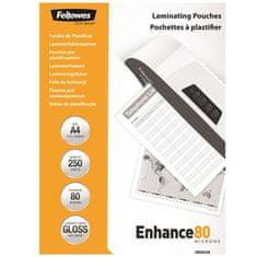 Fellowes Laminovací fólie, lesklá, 80 micron, A4, 250ks