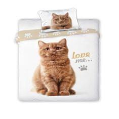 Povlečeme vše Bavlněné povlečení Kočka