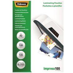Fellowes Laminovací fólie, lesklá, 100 micron, A5, 100ks