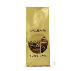 Frolíkova káva Káva Extra zrno 500g