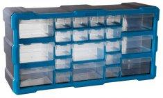 AHProfi Plastový organizér / box na skrutky 22 rozdeľovačov - MW1503 | AHProfi