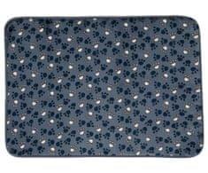 Trixie Plyšová Podložka Tammy 70 x 50 Cm Modrá S Packami