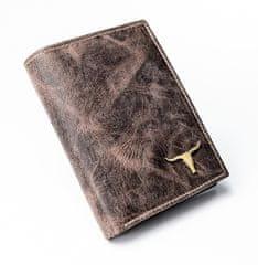 Buffalo Wild Kožená pánská peněženka Buffalo Wild, hnědá