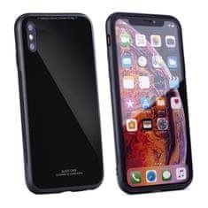 FORCELL Glass sklenený kryt na iPhone 5/5s/SE, čierny